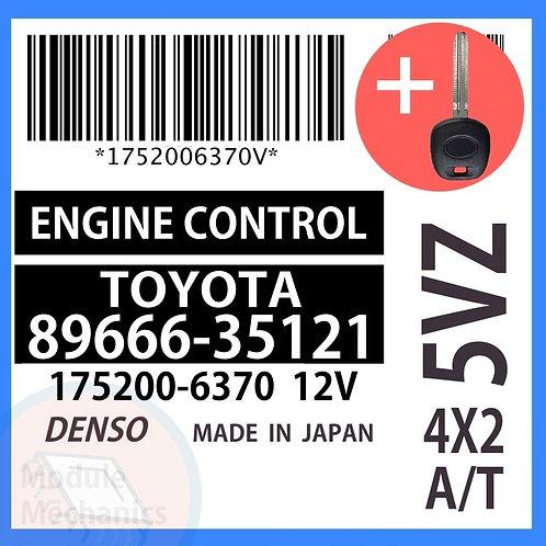 89666-35121 OEM ECU W/ Programmed Master Key Toyota 4Runner
