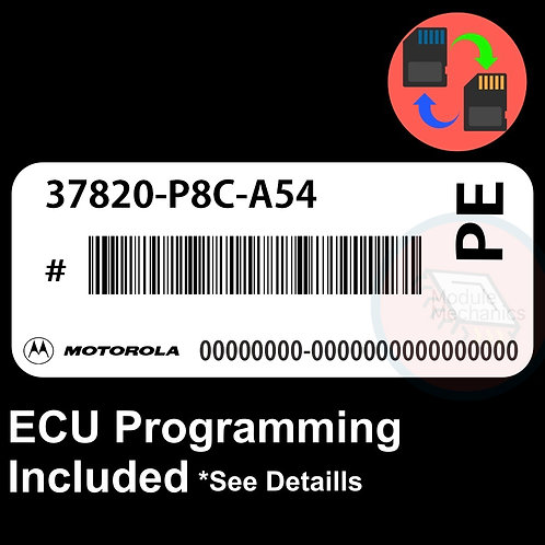 37820-P8C-A54 W/ PROGRAMMING 1998-2000 Honda Accord ECU ECM COMPUTER 98