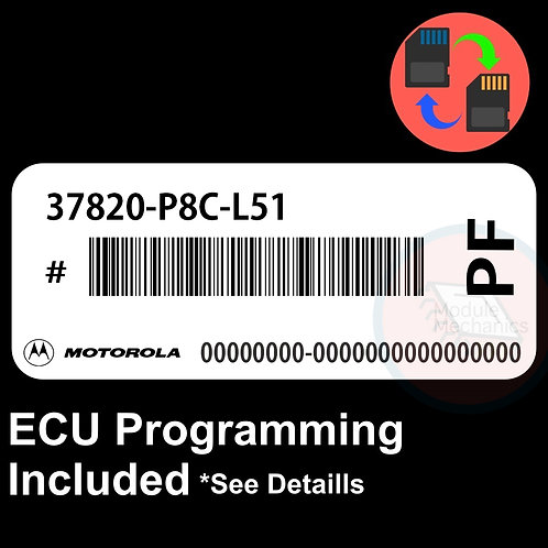37820-P8C-L51 ECU W/ Immobilizer / Security Programming Honda Accord
