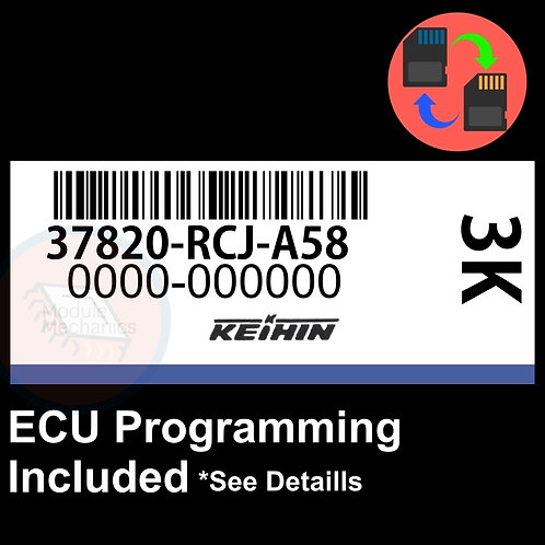 37820-RCJ-A58 ECU W/ Immobilizer / Security Programming Honda Accord