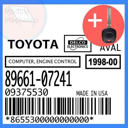 89661-07241 W/ Programmed Master Key Toyota Avalon