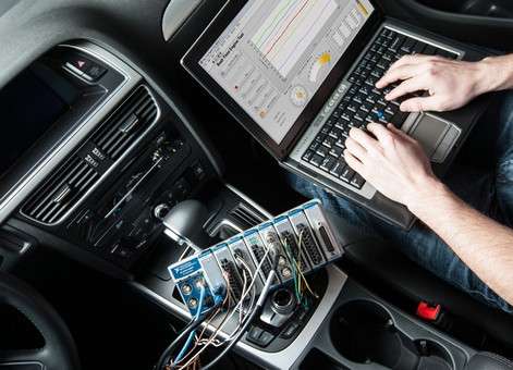 Mobile Engine Data Acquisition Software for NPD