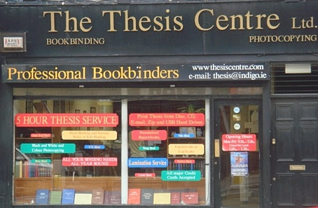 cheap thesis binding dublin