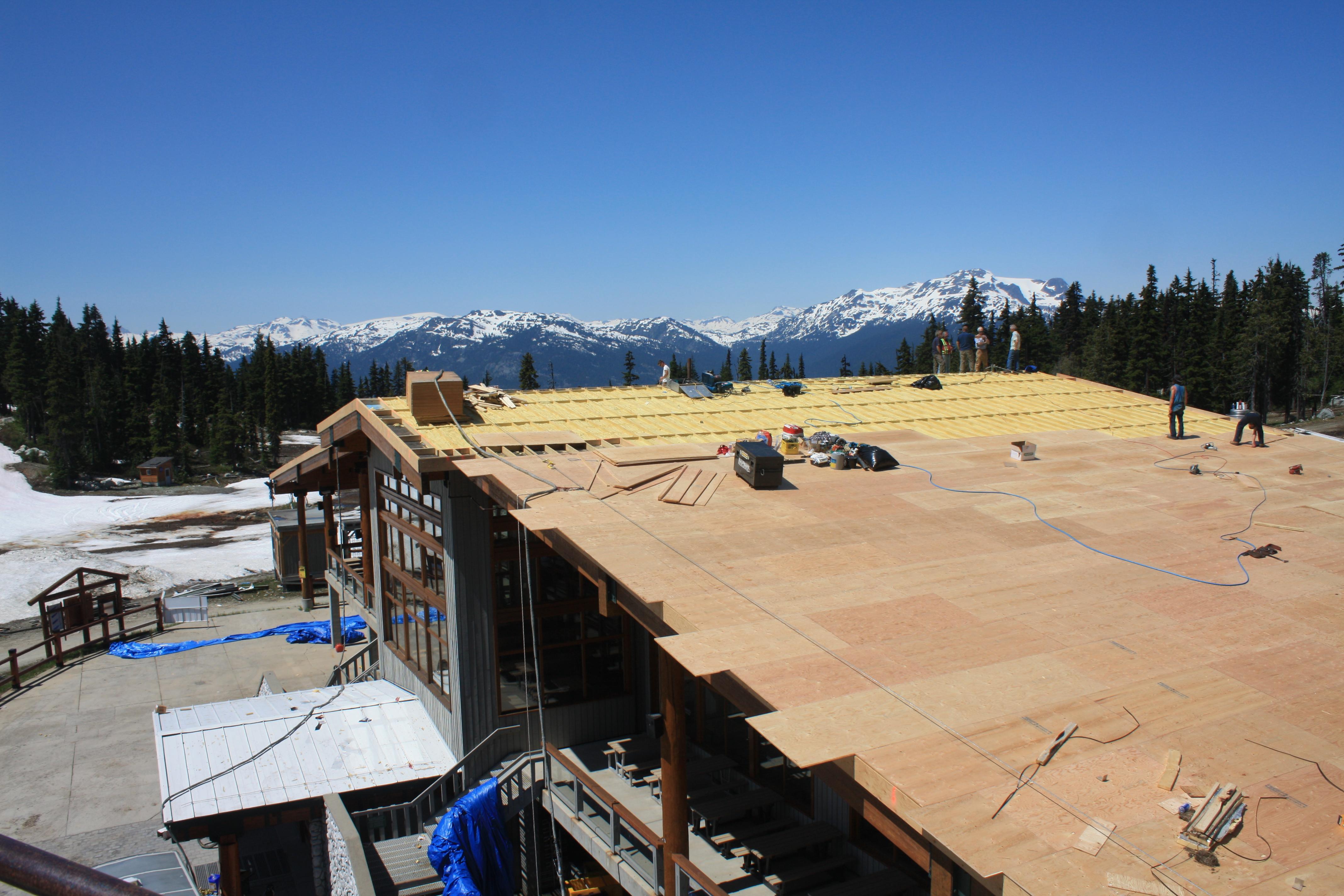 Glacier lodge Blackcomb