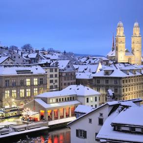 Enjoy the Beautiful Snow in Zurich!