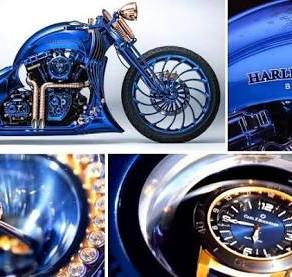 The Harley-Davidson Bucherer BLUE EDITION 1 of 1