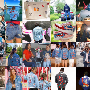 DENIM JACKET EXHIBITION & PERSONALISATION BAR