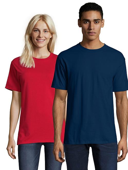 Hanes Short Sleeve Navy T-Shirt*