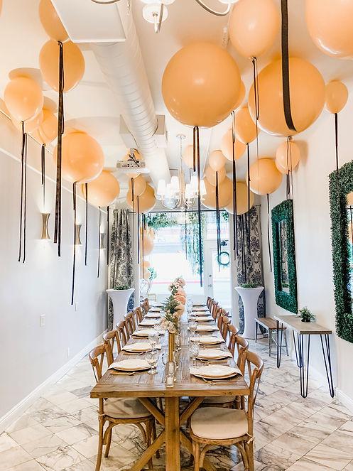 Balloon Room Fill Violet Cactus Venue