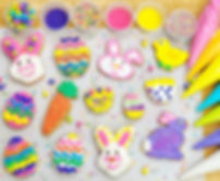 Deluxe 11 cookie Easter decorating kit.j