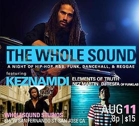 Reggae, Events, Eventbrite, Wholesound, Keznamdi, Dancehall, R&B, Silicon Valley