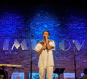 Miguel Kultura performing live at th San Jose Improv