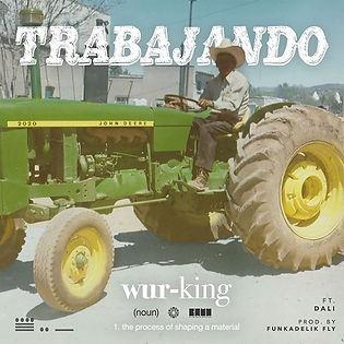 A mexican farm worker on a tractor. Agricultor mexicano. La cancon revulve del sujeto Trabajo y lo necesario para tener Exito.