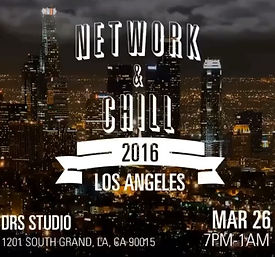 Networking Event, Network & Chill, Los Angeles, DRS Studio, Events, Music Events, Community