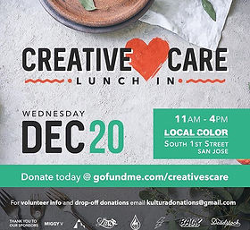 Homeless Lunch In, Community Events, Local Color, Holiday Season, Creative Care