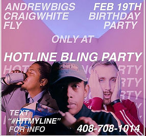 Hot Line Bling, Eventbrite, Events, R&B, Hip Hop