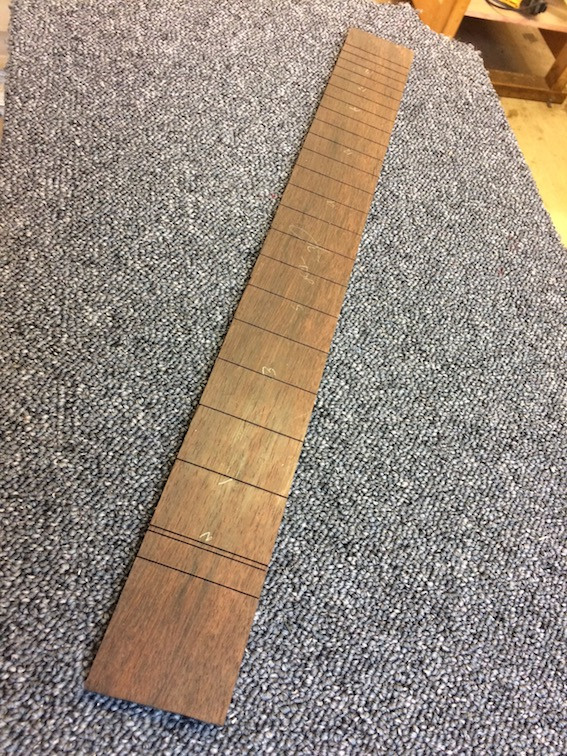 "slotted to the 25.5"" scale length"