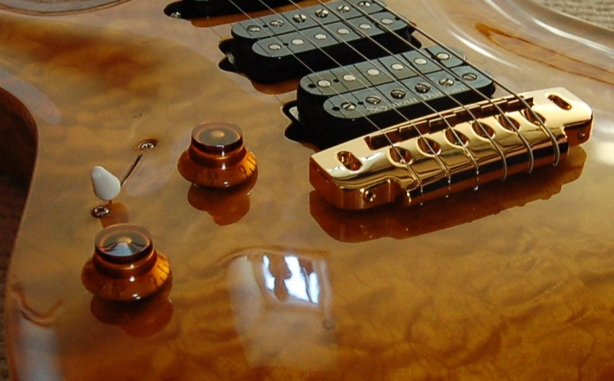 S-style carved top custom