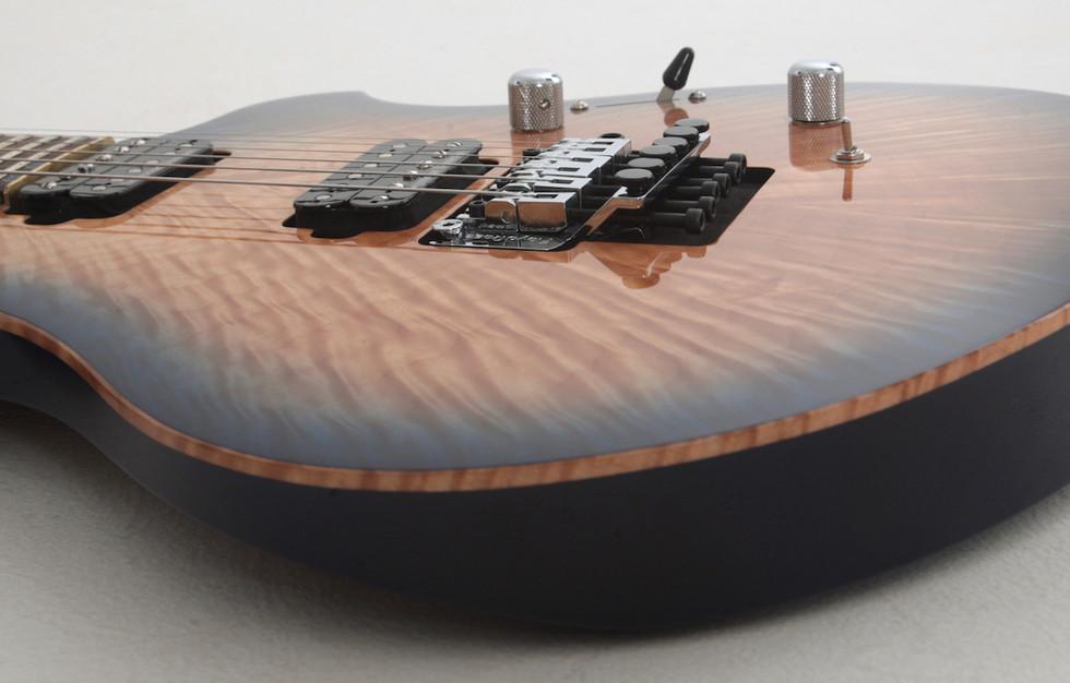In house custom guitar design