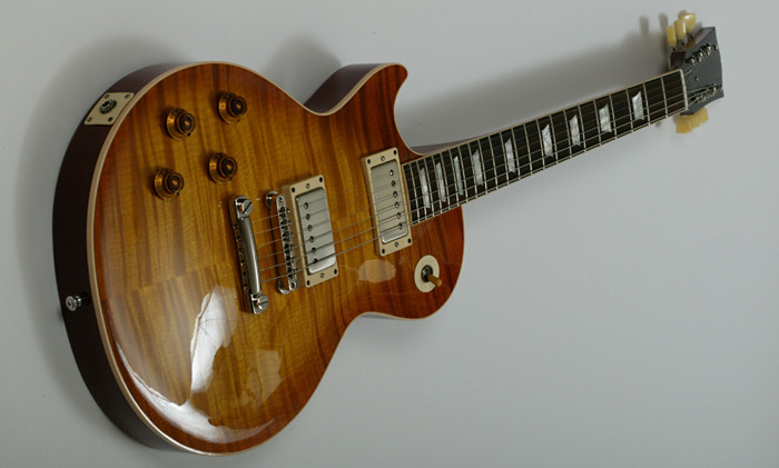 '59 LP replica leftie custom guitar