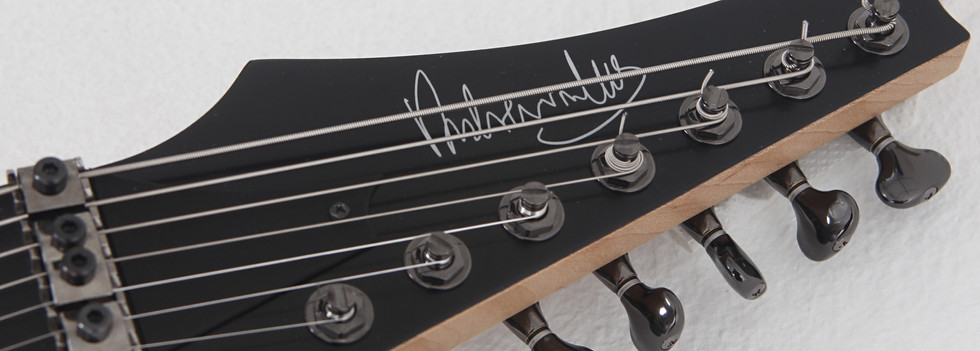 seven string headstock