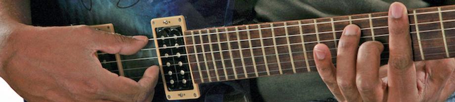 British made custom guitar