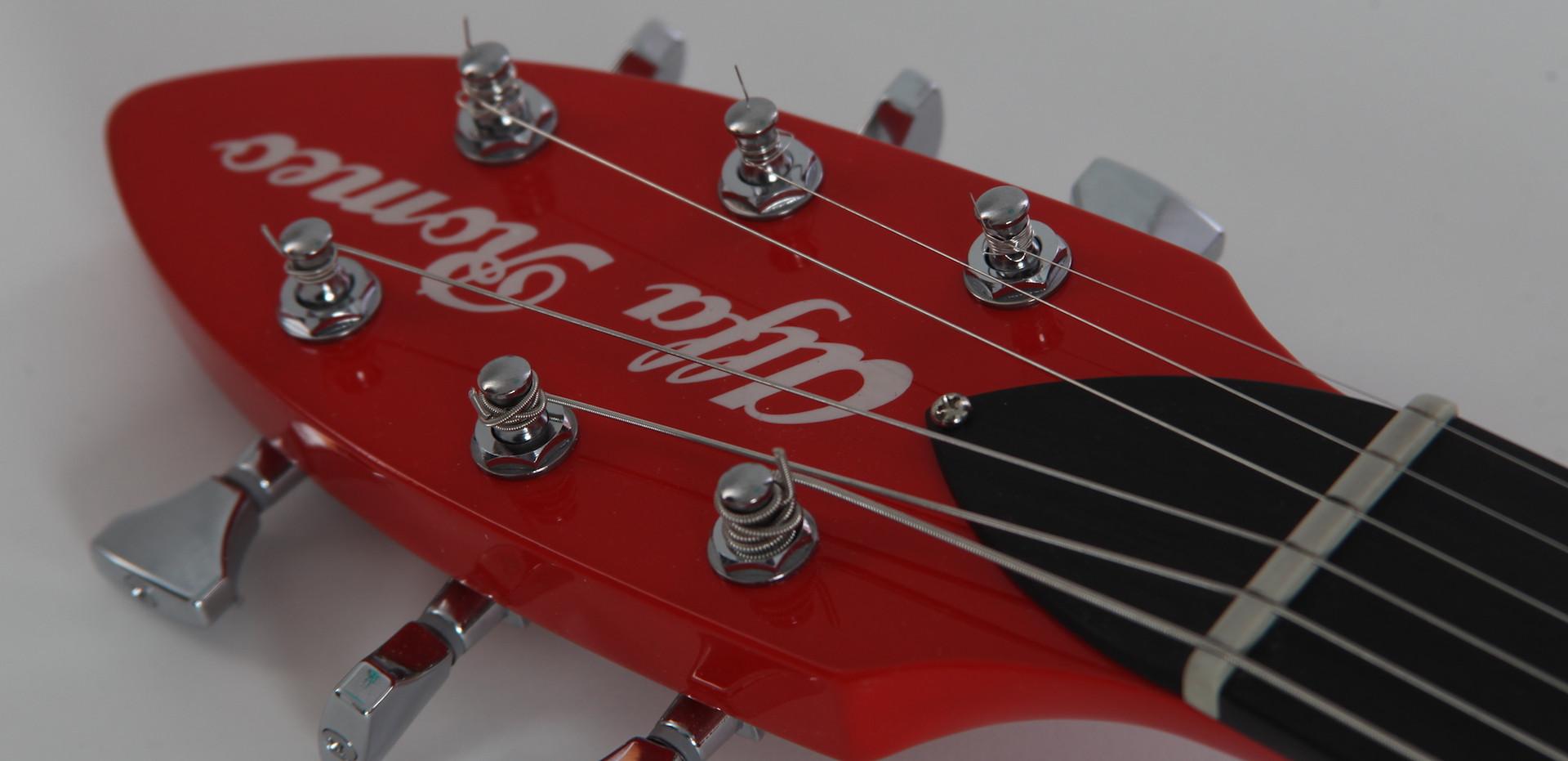 alfa romeo custom guitar headstock