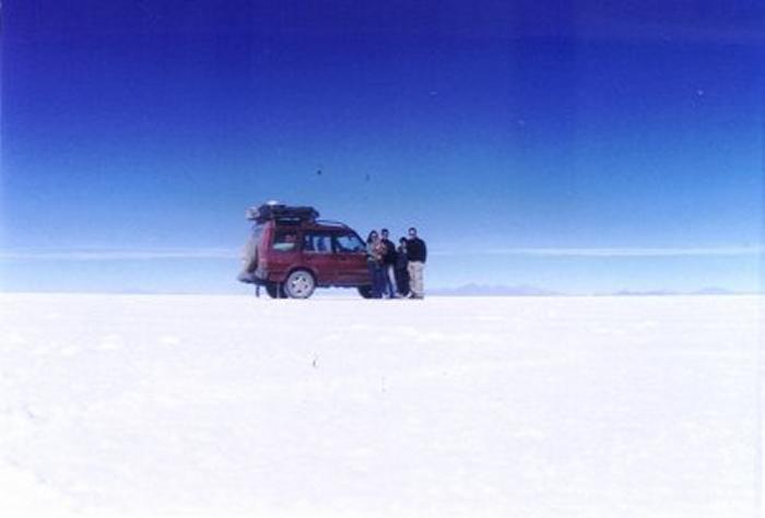 Salar de Uyuni - 2004