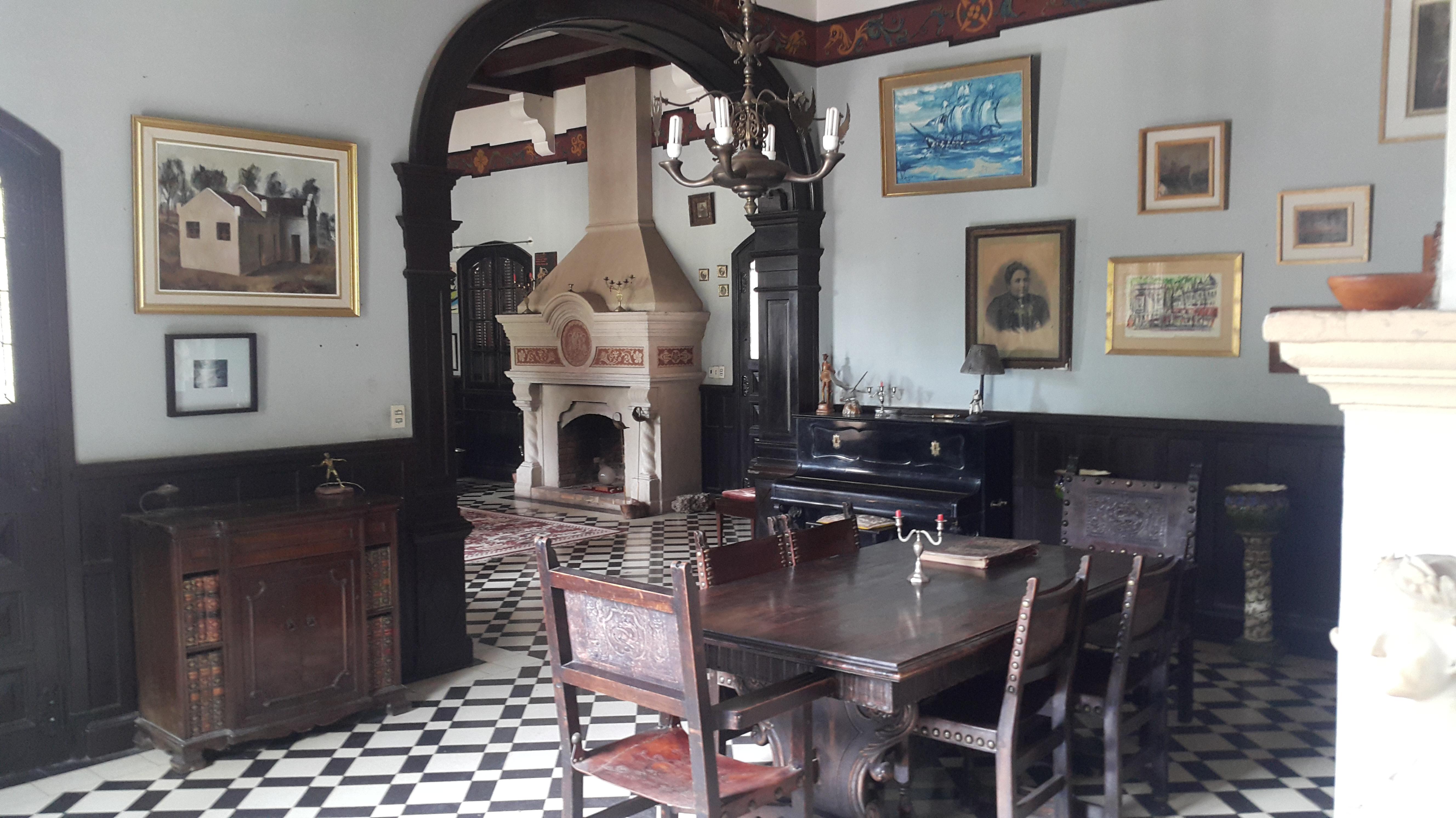 Interior Castillo Mudejar