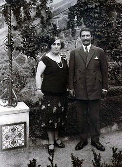 Firma Mayor y Odilo Estevez Yañez