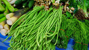 Stir Fried Long Beans with Mushrooms