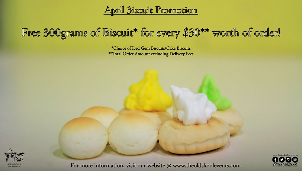 April 3iscuit Promotion