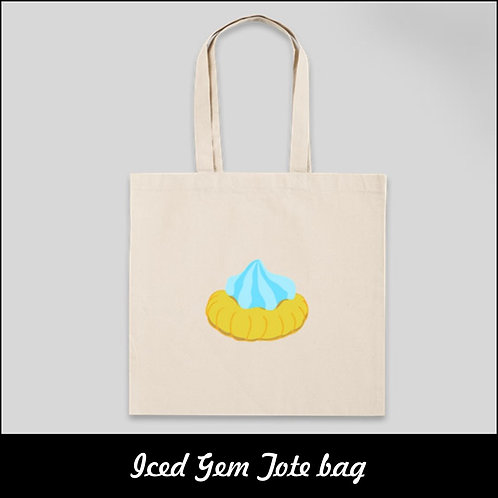Nostalgic Iced Gem Tote Bag | Merchandise | The Old Skool Singapore