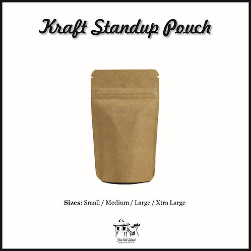 Kraft Standup Pouch | Packaging | The Old Skool SG