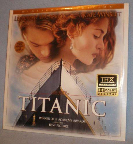 Titanic Laser Disc