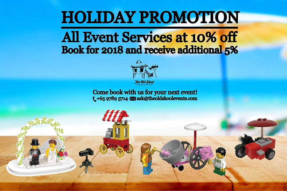 The Old Skool-Holiday Promotion