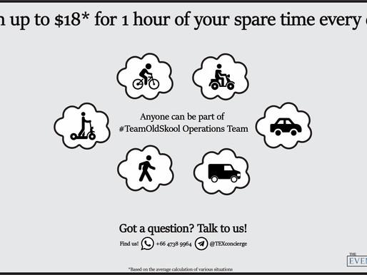 #TeamOldSkool Operations Team is Expanding!