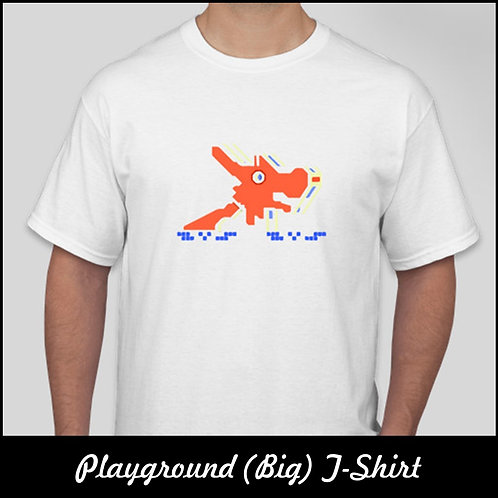 Nostalgic Playground T-Shirt (Big) | Merchandise | The Old Skool Singapore