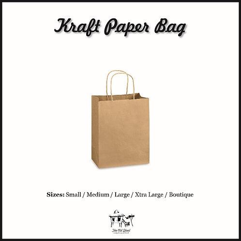 Kraft Paper Bag | Packaging | The Old Skool SG