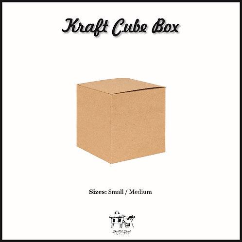 Kraft Cube Box | Packaging | The Old Skool SG