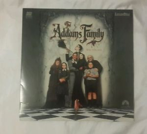 The Addams Family Laser Disc