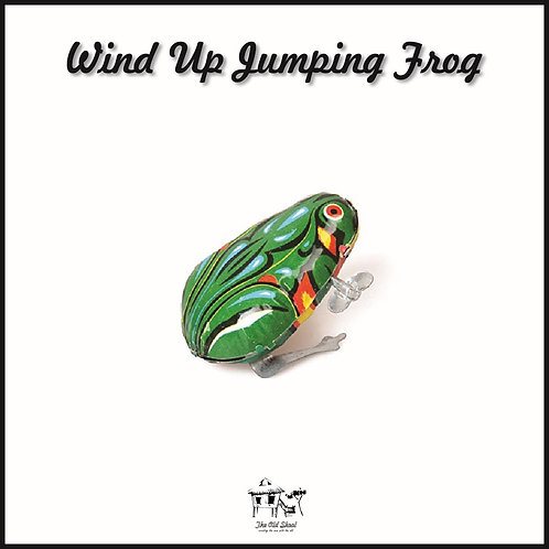 Wind Up Jumping Frog   Toys   The Old Skool SG