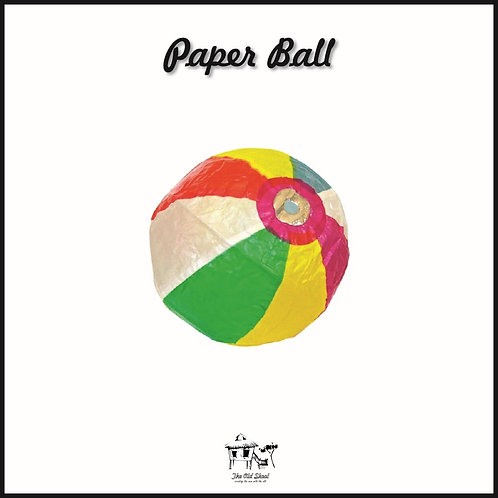 Paper Ball | Toys | The Old Skool SG