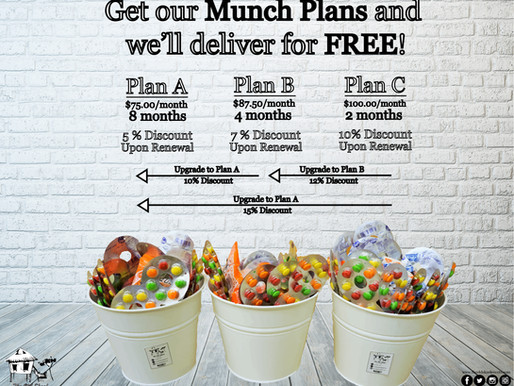 What are the Munch Plans?