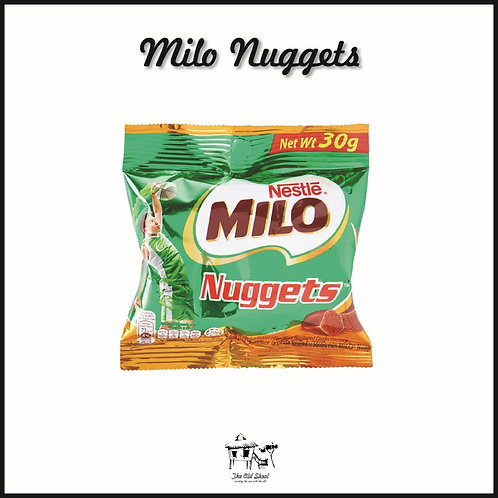 Milo Nuggets | Chocolate | The Old Skool SG