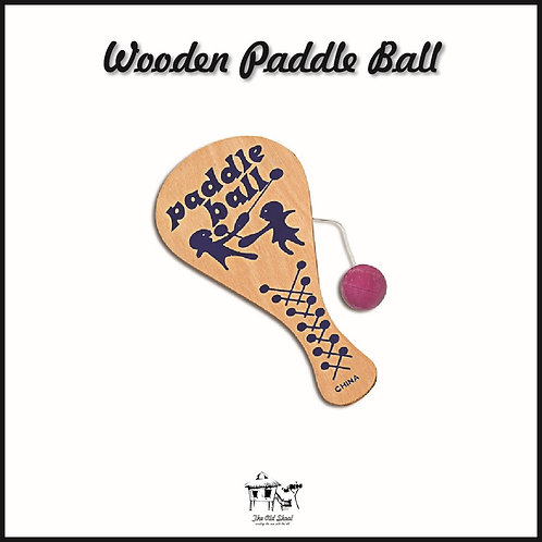 Wooden Paddle Ball | Toys | The Old Skool SG
