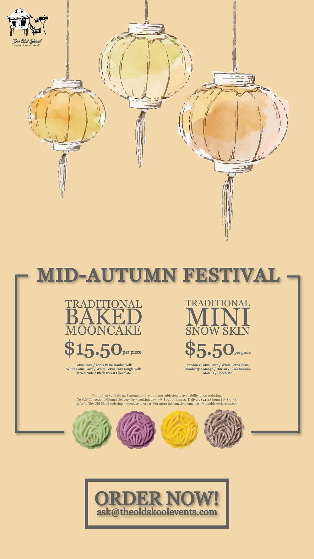 The Old Skool Mid-Autumn Festival Promotion
