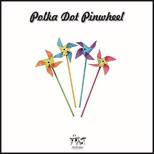 Polka Dot Pinwheel | Toys | The Old Skool SG