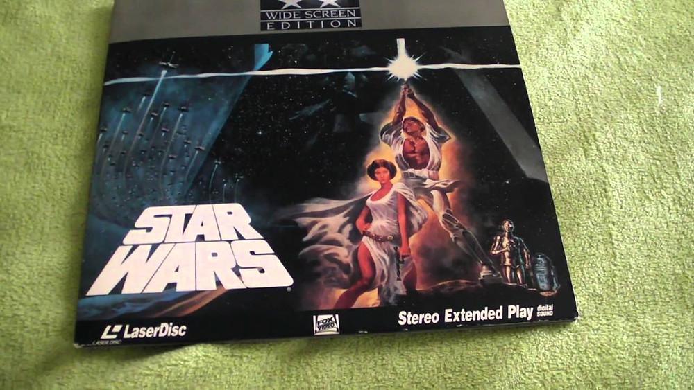 Star Wars Laser Disc