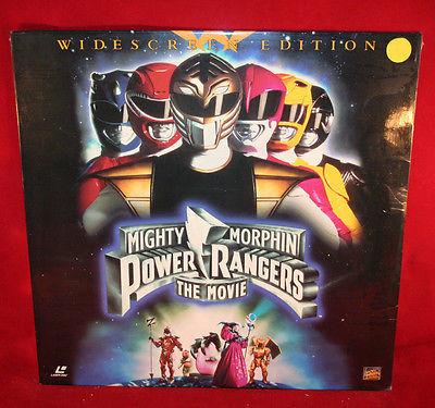 Mighty Morphin Power Rangers Laser Disc